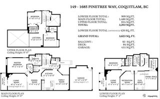 Photo 25: 149 1685 PINETREE Way in Coquitlam: Westwood Plateau Townhouse for sale : MLS®# R2541242