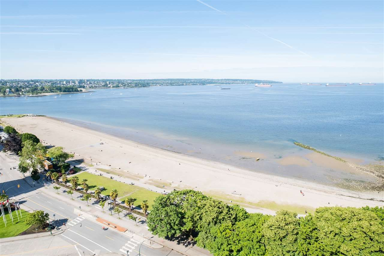 """Main Photo: 1903 1835 MORTON Avenue in Vancouver: West End VW Condo for sale in """"Ocean Towers"""" (Vancouver West)  : MLS®# R2530761"""