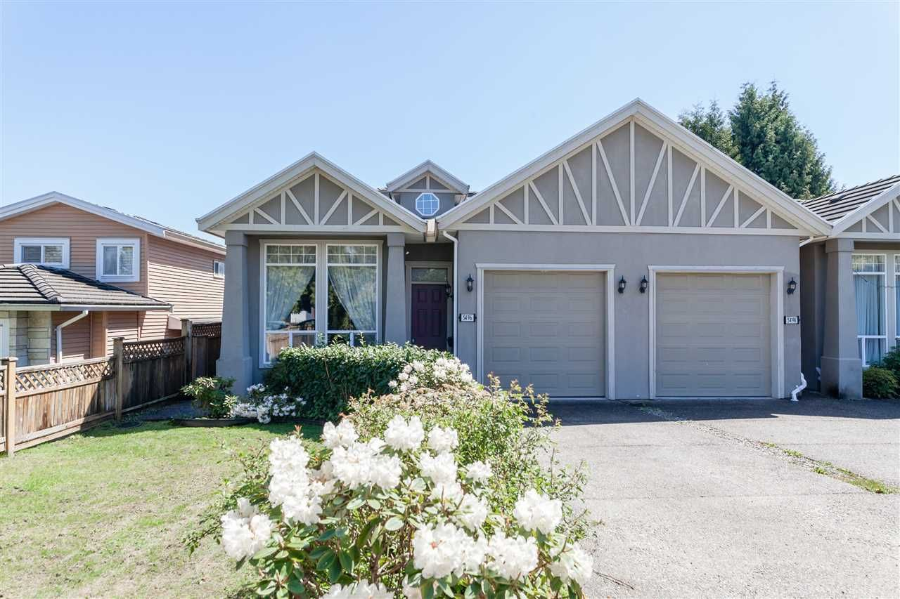 Main Photo: 5496 CHAFFEY Avenue in Burnaby: Central Park BS 1/2 Duplex for sale (Burnaby South)  : MLS®# R2163788