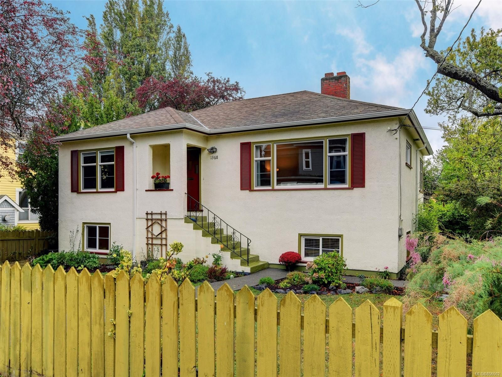 Main Photo: 1368 Grant St in : Vi Fernwood House for sale (Victoria)  : MLS®# 856502