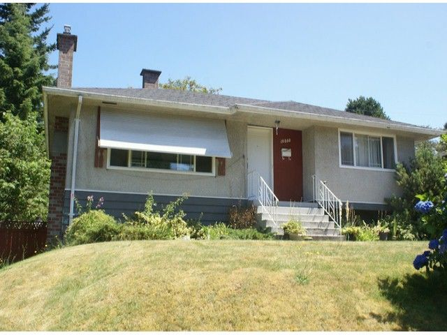 Main Photo: 10860 128TH Street in Surrey: Whalley House for sale (North Surrey)  : MLS®# F1317633