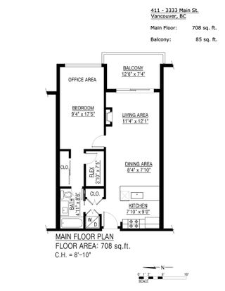 """Photo 40: 411 3333 MAIN Street in Vancouver: Main Condo for sale in """"3333 Main"""" (Vancouver East)  : MLS®# R2542391"""