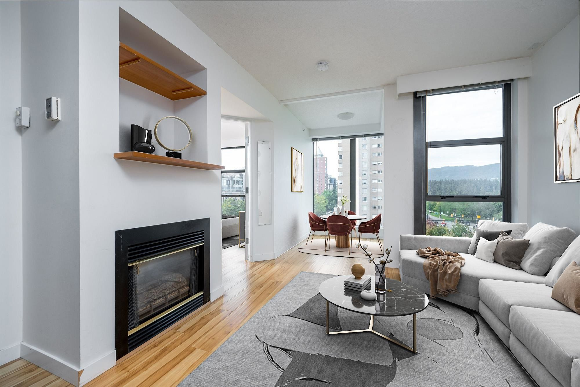 """Main Photo: 705 1723 ALBERNI Street in Vancouver: West End VW Condo for sale in """"THE PARK"""" (Vancouver West)  : MLS®# R2622898"""
