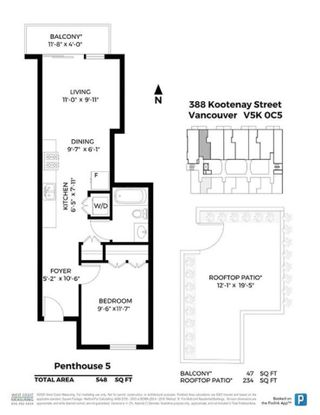 """Photo 20: PH5 388 KOOTENAY Street in Vancouver: Hastings Sunrise Condo for sale in """"View 388"""" (Vancouver East)  : MLS®# R2515376"""
