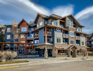 Photo 1: 407 170 Kananaskis Way: Canmore Apartment for sale : MLS®# A1096441