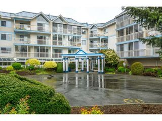 """Photo 1: 207 31930 OLD YALE Road in Abbotsford: Abbotsford West Condo for sale in """"Royal Court"""" : MLS®# R2338800"""