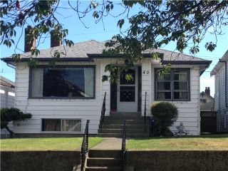 """Photo 1: 40 W 40TH Avenue in Vancouver: Cambie House for sale in """"CAMBIE/OAKRIDGE"""" (Vancouver West)  : MLS®# V1023859"""