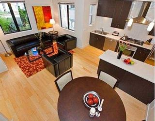 """Photo 8: 1423 W 11TH Avenue in Vancouver: Fairview VW Townhouse for sale in """"1425 W 11TH"""" (Vancouver West)  : MLS®# V667630"""