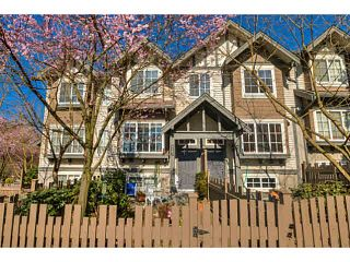 """Photo 1: 9183 CAMERON Street in Burnaby: Sullivan Heights Townhouse for sale in """"STONEBROOK"""" (Burnaby North)  : MLS®# V1111130"""