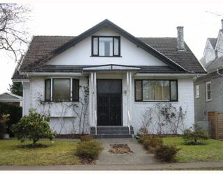 """Photo 1: 4410 W 12TH Avenue in Vancouver: Point Grey House for sale in """"S"""" (Vancouver West)  : MLS®# V761617"""