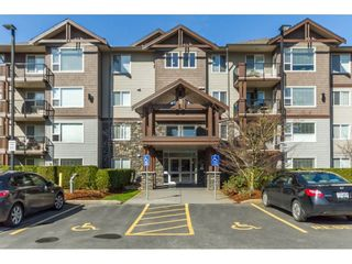 """Photo 1: 106 2581 LANGDON Street in Abbotsford: Abbotsford West Condo for sale in """"Cobblestone"""" : MLS®# R2154398"""