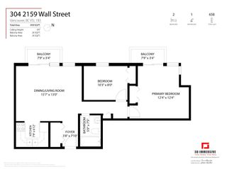 """Photo 27: 304 2159 WALL Street in Vancouver: Hastings Condo for sale in """"WALL COURT"""" (Vancouver East)  : MLS®# R2611907"""