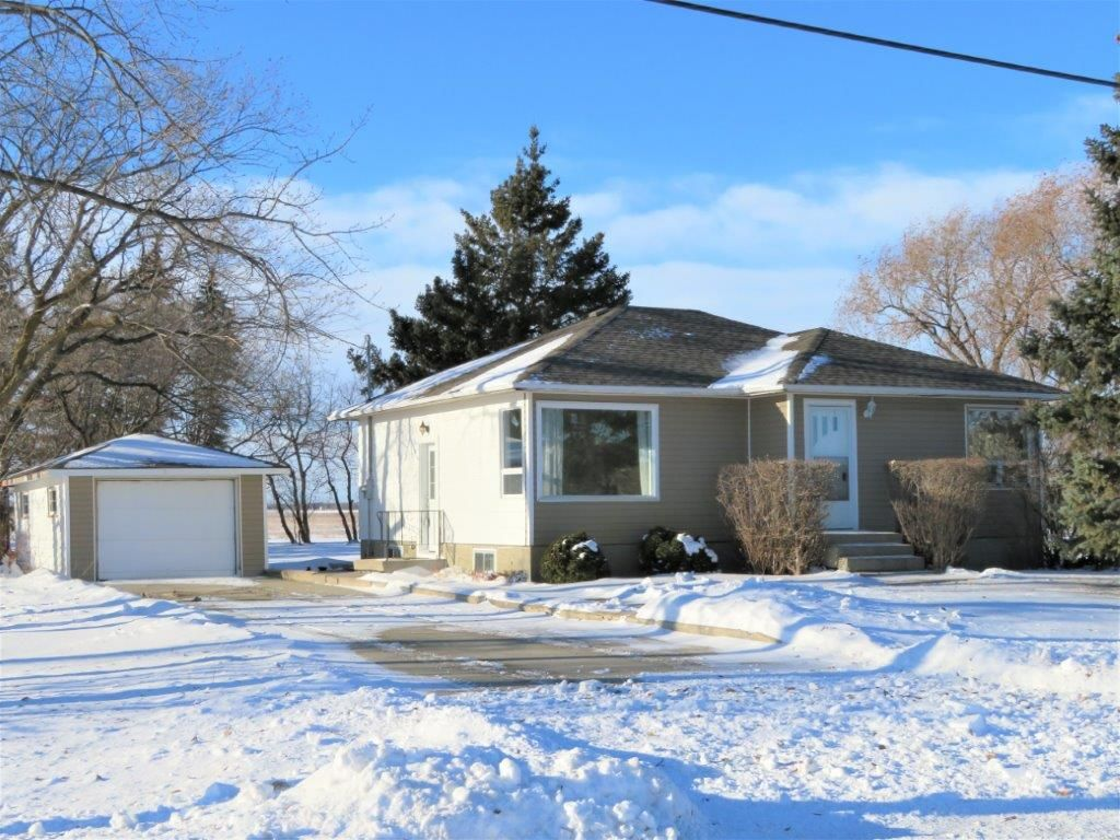 PERFECT STARTER OR RETIREMENT HOME! Well maintained 904 sf two bedroom bungalow, 23x12.5 detached garage, concrete driveway, located on a mature treed lot on a paved road in the beautiful Town of Hazelridge.