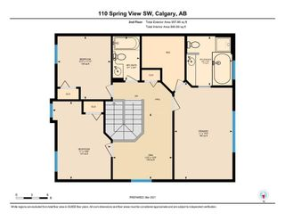 Photo 35: 110 Spring View SW in Calgary: Springbank Hill Detached for sale : MLS®# A1074720
