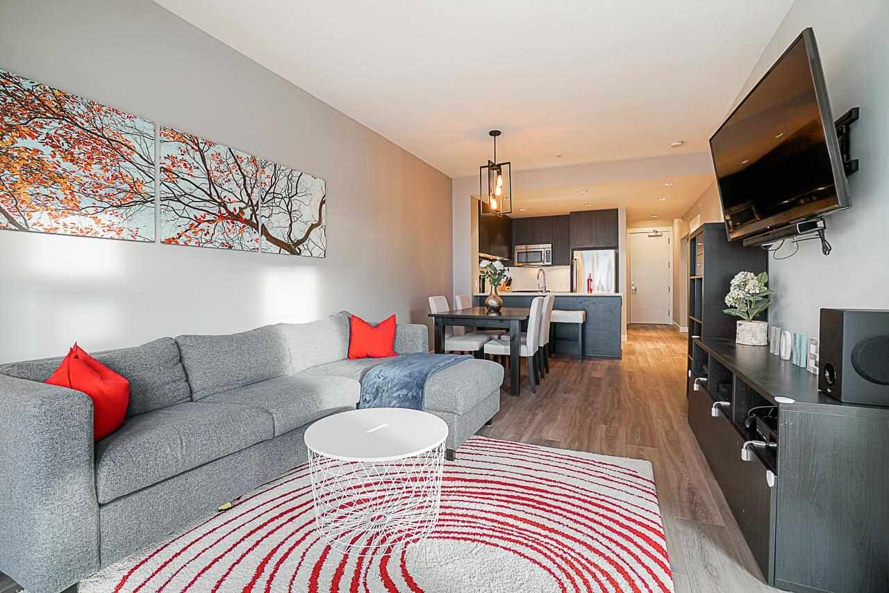 """Main Photo: 312 550 SEABORNE Place in Port Coquitlam: Riverwood Condo for sale in """"Freemont Green"""" : MLS®# R2581619"""