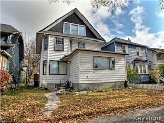 Main Photo: 181 Ethelbert Street in Winnipeg: Wolseley Tri-plex for sale (West Winnipeg)  : MLS®# 1323264