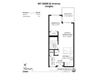 """Photo 32: #407 20200 56 Avenue in Langley: Langley City Condo for sale in """"The Bentley"""" : MLS®# R2598723"""