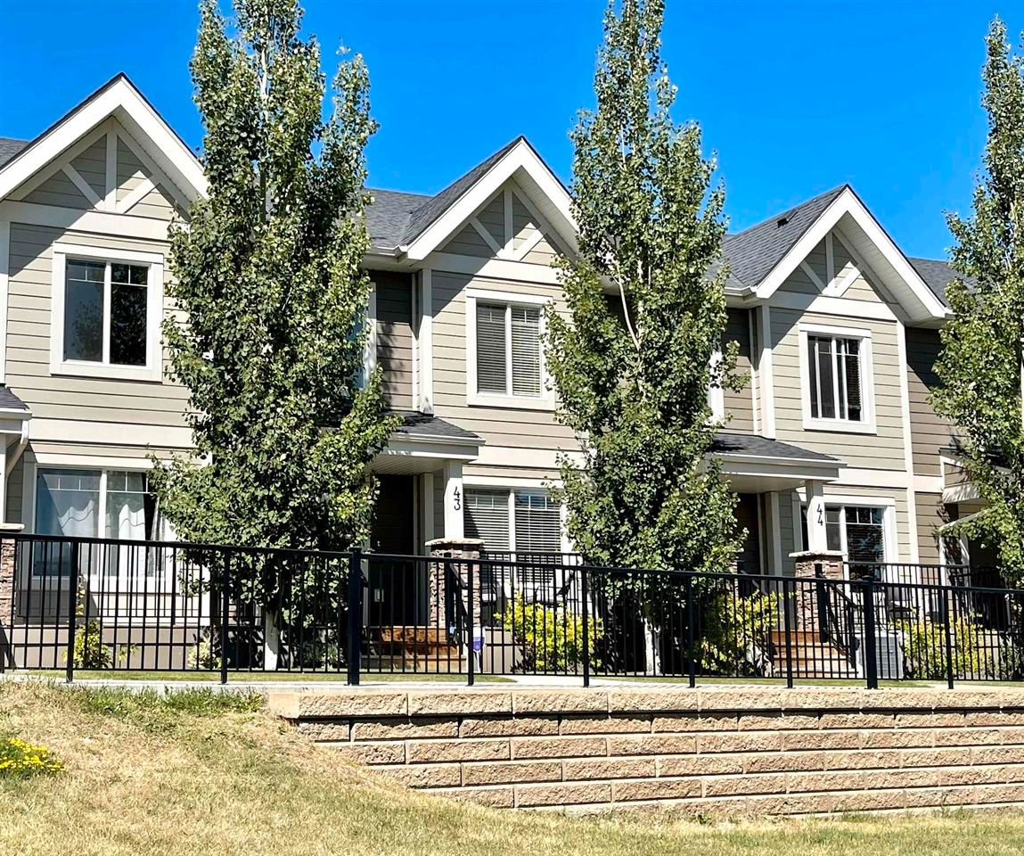 Main Photo: 43 1150 Windermere Way in Edmonton: House for sale