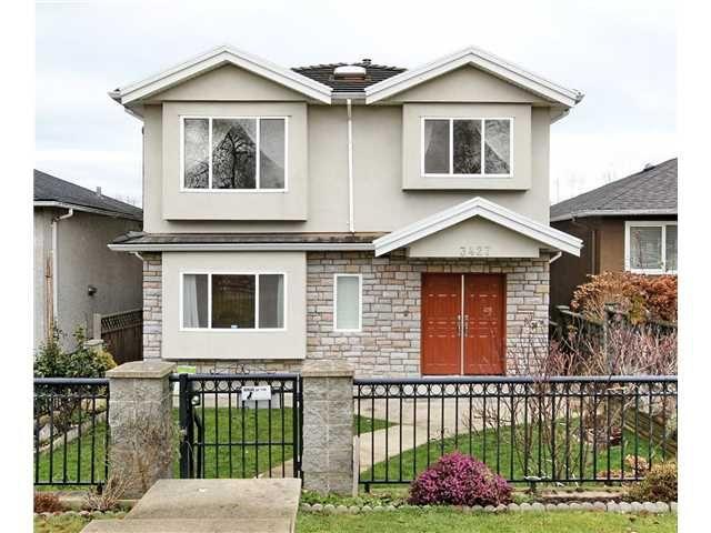 """Main Photo: 3427 E 23RD AV in Vancouver: Renfrew Heights House for sale in """"Renfrew Heights"""" (Vancouver East)  : MLS®# V1040249"""