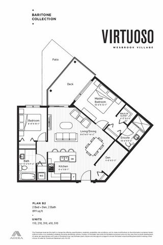 """Photo 5: 110 3581 ROSS Drive in Vancouver: University VW Condo for sale in """"VITUOSOS BY ADERA"""" (Vancouver West)  : MLS®# R2484256"""