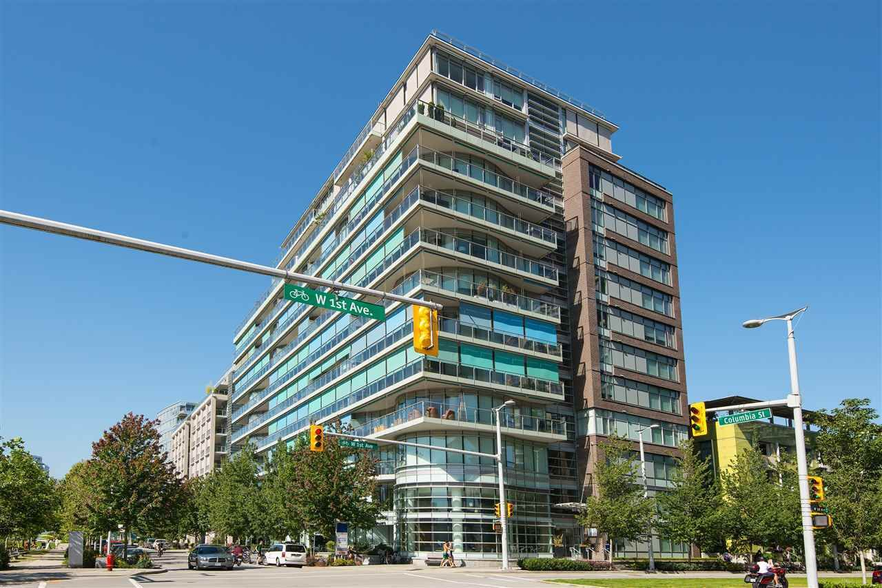 """Main Photo: 501 181 W 1ST Avenue in Vancouver: False Creek Condo for sale in """"BROOK - Village On False Creek"""" (Vancouver West)  : MLS®# R2524212"""