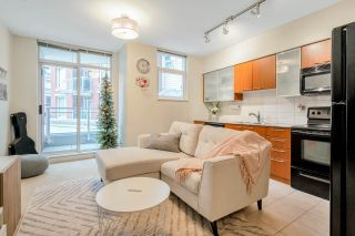 "Main Photo: 320 4028 KNIGHT Street in Vancouver: Knight Condo for sale in ""KING EDWARD VILLAGE"" (Vancouver East)  : MLS®# R2546331"