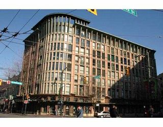 """Main Photo: 504 1 E CORDOVA ST in Vancouver: Downtown VE Condo for sale in """"CARRALL STATION"""" (Vancouver East)  : MLS®# V547114"""