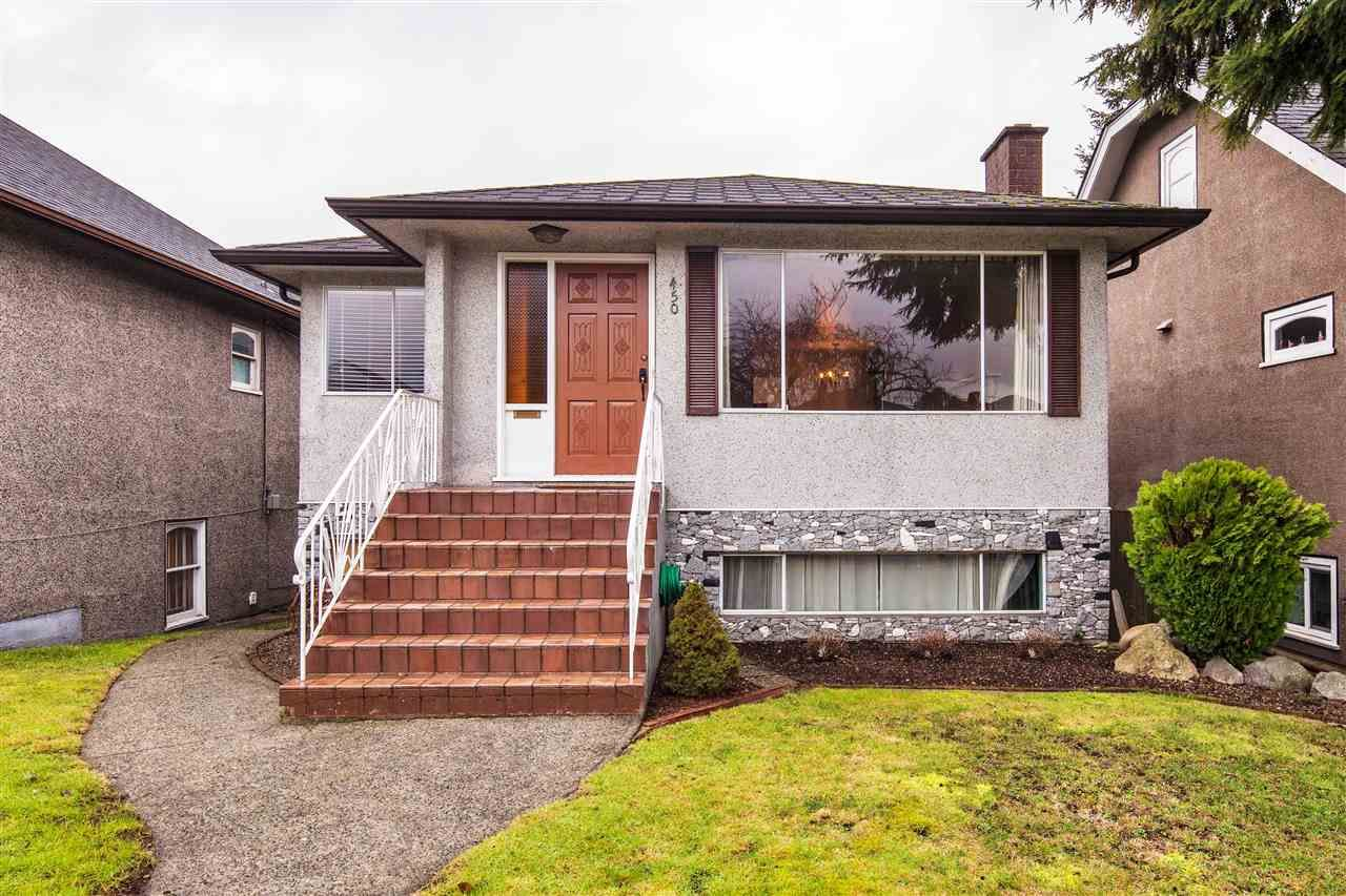 Photo 1: Photos: 450 E 57TH AVENUE in Vancouver: South Vancouver House for sale (Vancouver East)  : MLS®# R2135763