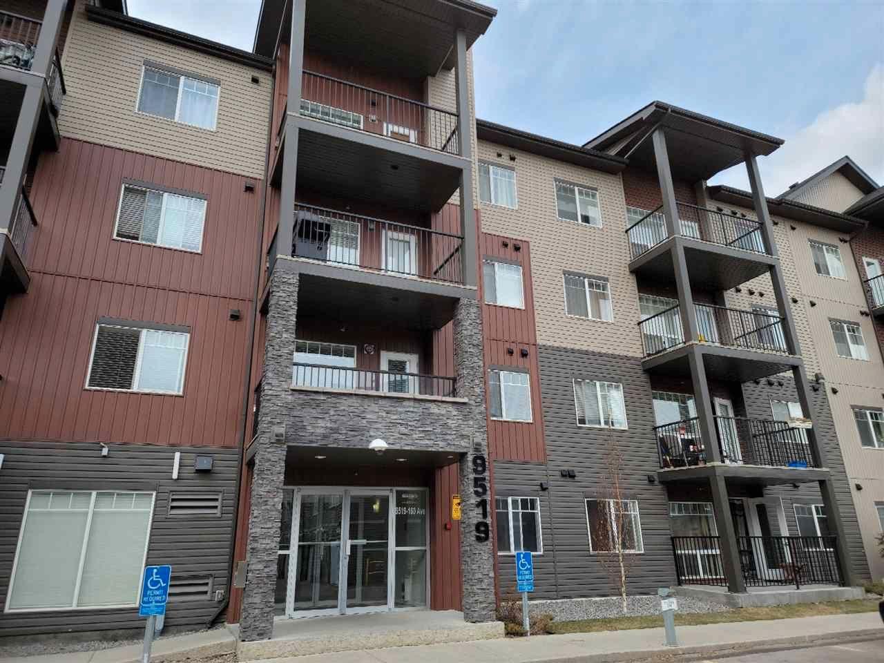 Main Photo: 106 9519 160 Avenue in Edmonton: Zone 28 Condo for sale : MLS®# E4241636