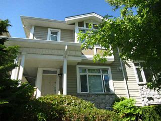 Photo 1: 867 W 59TH AV in Vancouver: South Cambie Townhouse for sale (Vancouver West)  : MLS®# V1136841