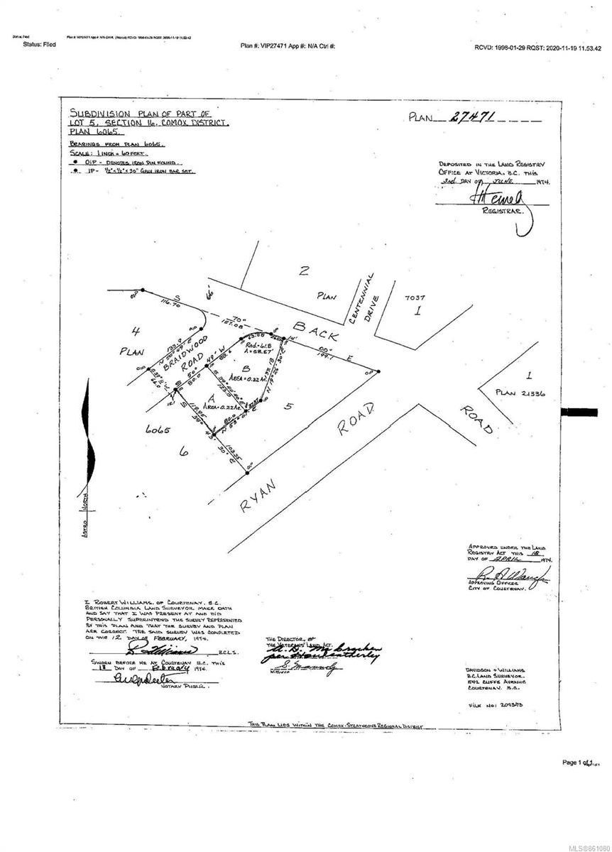 Main Photo: 1201 & 1251 Braidwood Rd in : CV Courtenay West Unimproved Land for sale (Comox Valley)  : MLS®# 861080