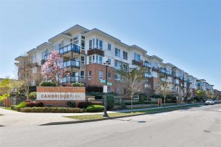 "Photo 1: 313 9500 ODLIN Road in Richmond: West Cambie Condo for sale in ""Cambridge Park"" : MLS®# R2569734"