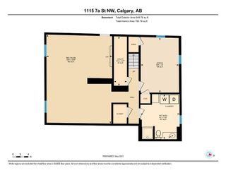 Photo 41: 1115 7A Street NW in Calgary: Rosedale Detached for sale : MLS®# A1104750