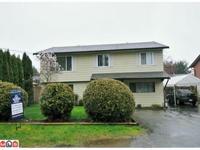 Main Photo: 32344 14TH Avenue in Mission: Mission BC House for sale : MLS®# F1007004