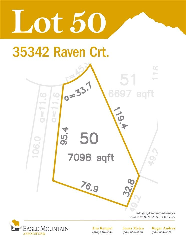 """Main Photo: 35342 RAVEN Court in Abbotsford: Abbotsford East Land for sale in """"Eagle Mountain"""" : MLS®# R2549708"""