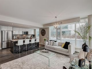 Photo 11: 201 560 6 Avenue SE in Calgary: Downtown East Village Apartment for sale : MLS®# A1063325