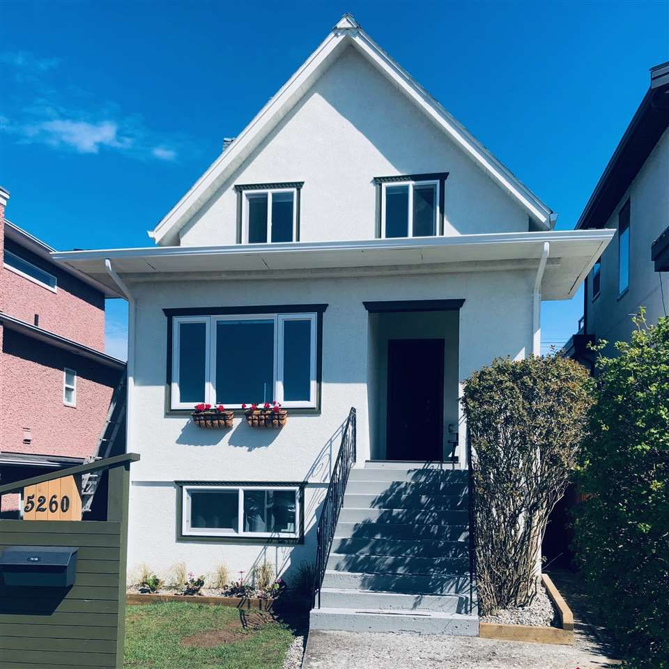 Main Photo: 5260 INVERNESS Street in Vancouver: Knight House for sale (Vancouver East)  : MLS®# R2452230