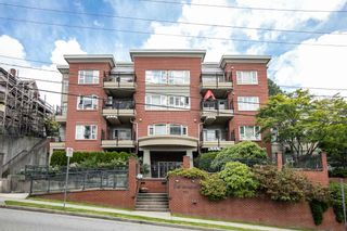 "Photo 1: 203 221 ELEVENTH Street in New Westminster: Uptown NW Condo for sale in ""THE STANDFORD"" : MLS®# R2464759"