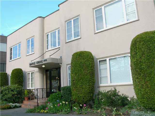 Main Photo: 4 6344 EAST BOULEVARD in : Kerrisdale Condo for sale : MLS®# V829919