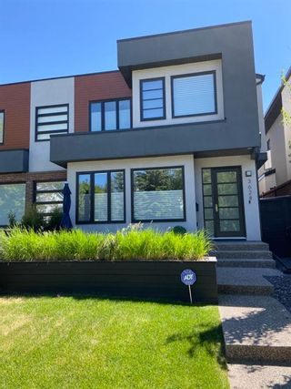 Main Photo: 3628 Parkhill Street SW in Calgary: Parkhill Semi Detached for sale : MLS®# A1083574