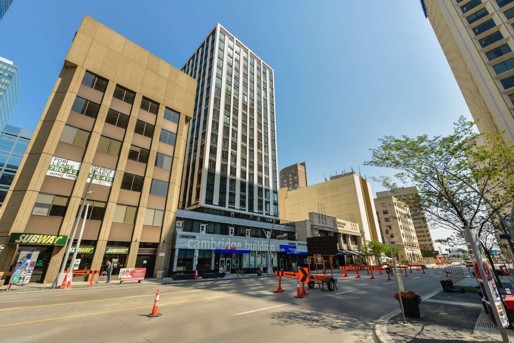 Main Photo: 709 10024 JASPER Avenue in Edmonton: Zone 12 Condo for sale : MLS®# E4253786