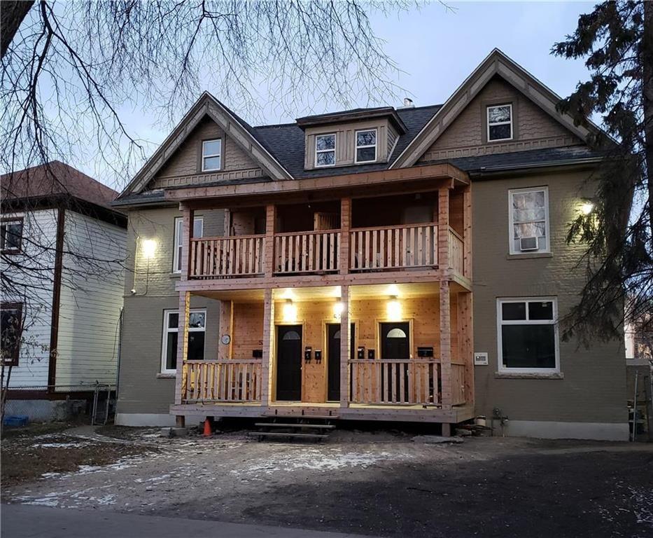 Main Photo: 6 525 Spence Street in Winnipeg: Condominium for sale (5A)  : MLS®# 202110632