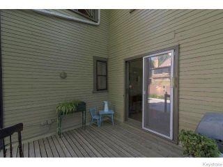 Photo 19: 139 Home Street in WINNIPEG: West End / Wolseley Residential for sale (West Winnipeg)  : MLS®# 1517545