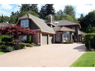 """Photo 1: 1608 SPYGLASS Crescent in Tsawwassen: Cliff Drive House for sale in """"IMPERIAL VILLAGE"""" : MLS®# V847835"""