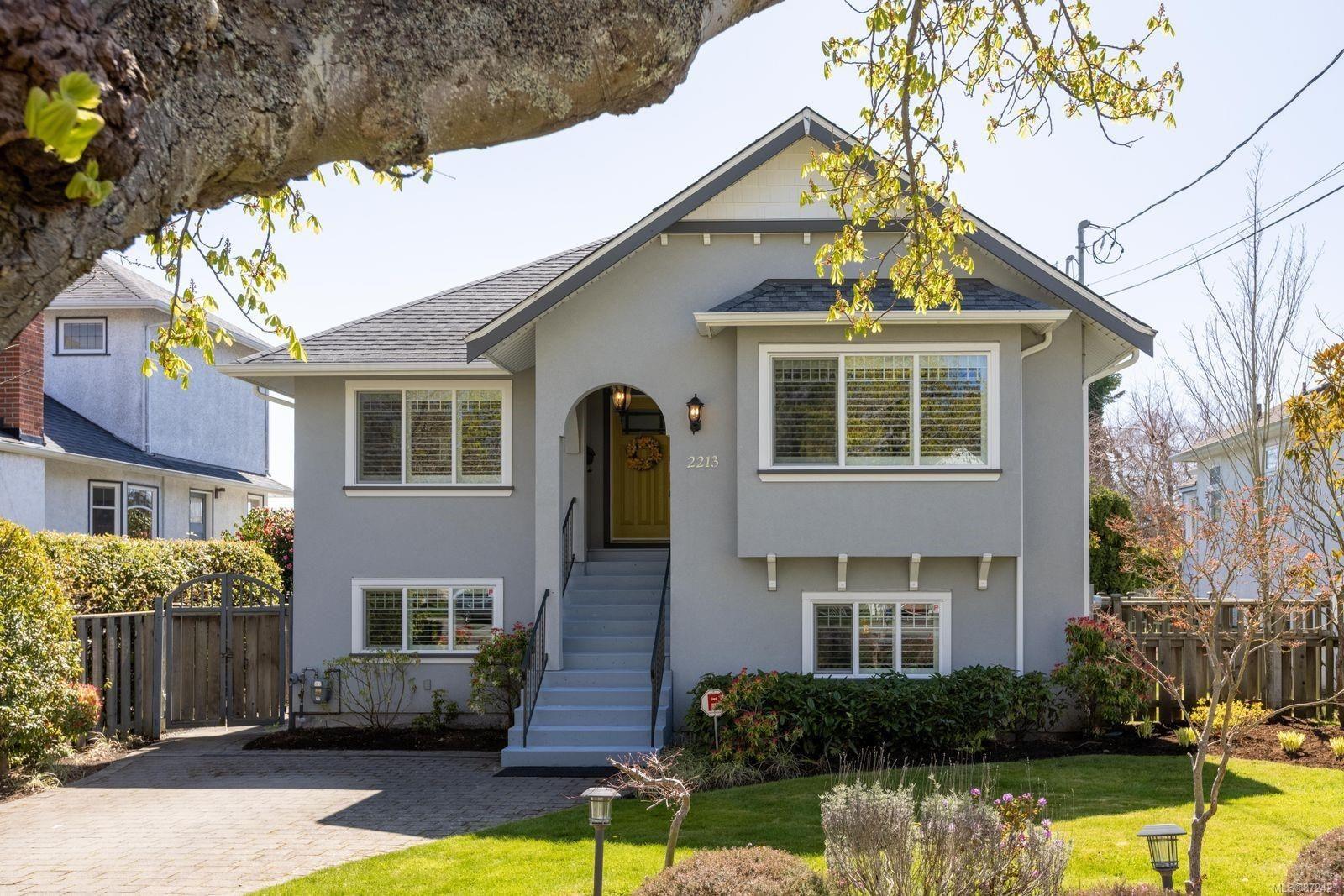 Main Photo: 2213 Windsor Rd in : OB South Oak Bay House for sale (Oak Bay)  : MLS®# 872421