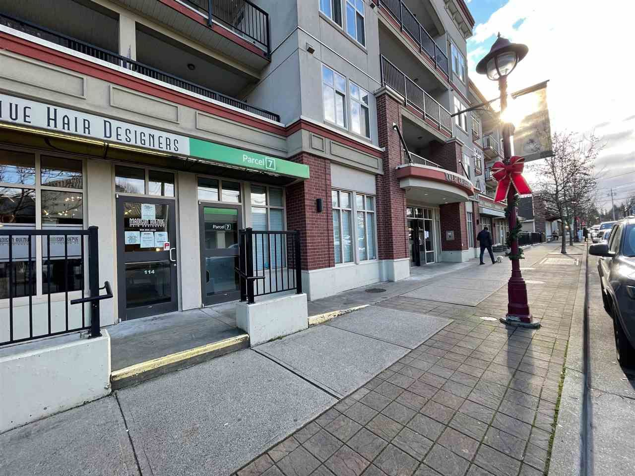 Main Photo: 112 2632 PAULINE Street in Abbotsford: Central Abbotsford Office for lease : MLS®# C8036218