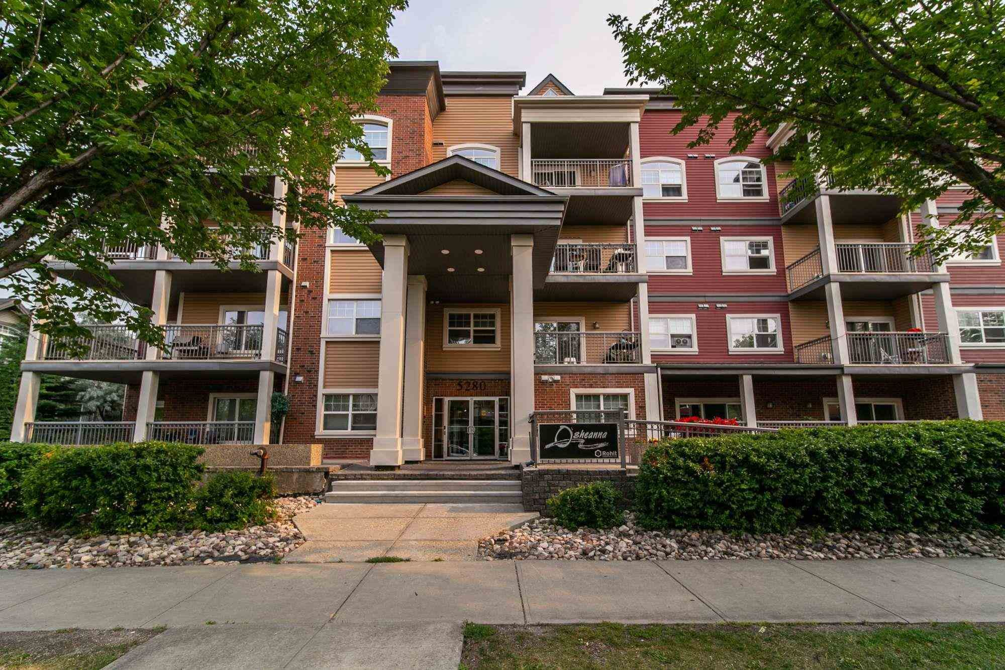 Main Photo: 314 5280 TERWILLEGAR Boulevard in Edmonton: Zone 14 Condo for sale : MLS®# E4256856