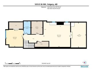 Photo 41: 1819 5 Street NW in Calgary: Mount Pleasant Semi Detached for sale : MLS®# A1147804