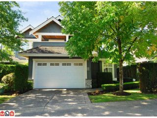 "Photo 1: 7 15715 34TH Avenue in Surrey: Morgan Creek Townhouse for sale in ""The Wedgewood"" (South Surrey White Rock)  : MLS®# F1124398"