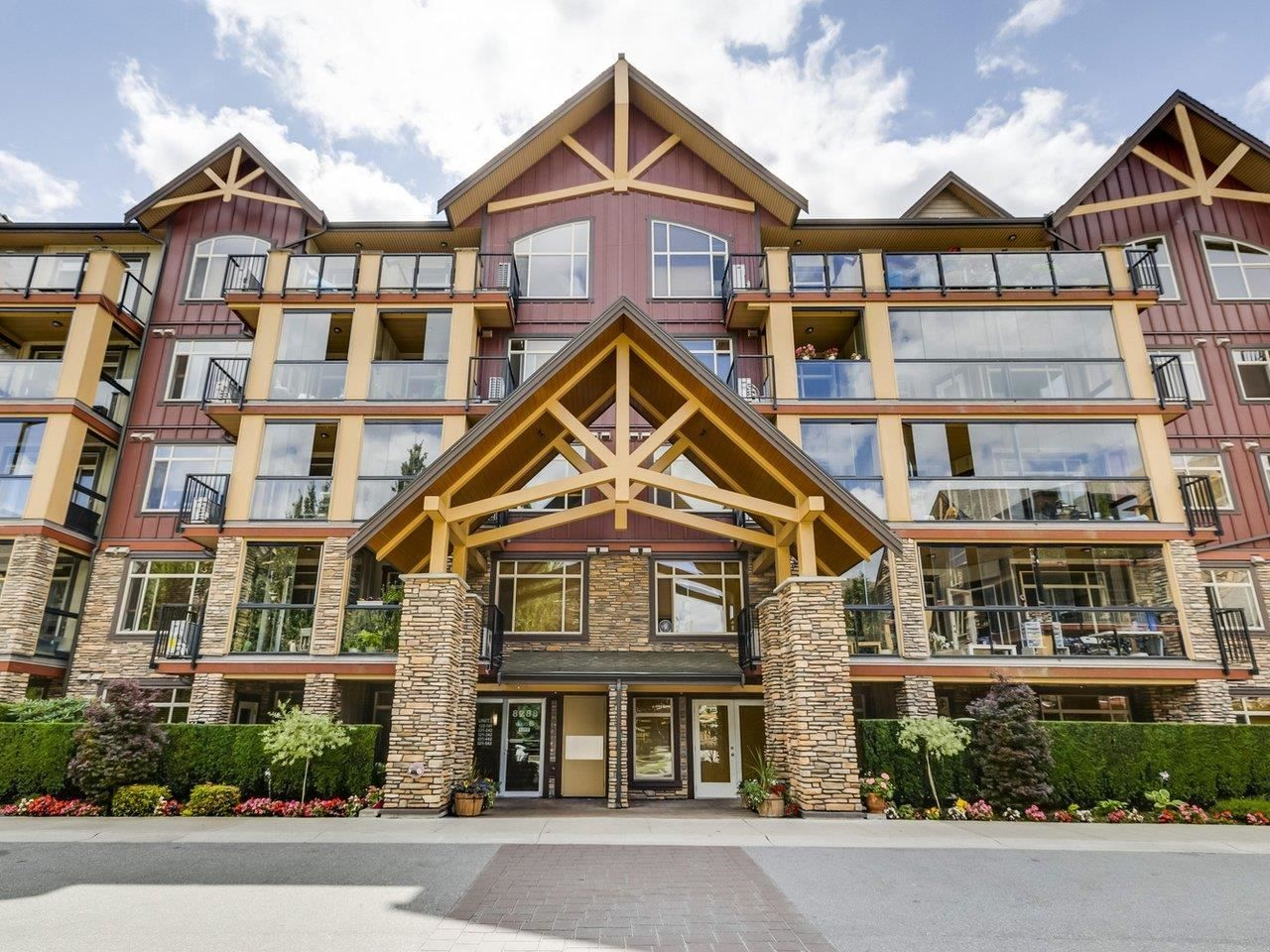 """Main Photo: 128 8288 207A Street in Langley: Willoughby Heights Condo for sale in """"YORKSON CREEK"""" : MLS®# R2603173"""